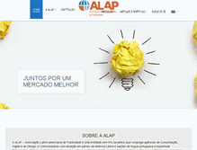 Tablet Preview of alap.com.br